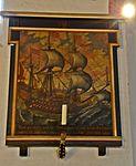 Wismar, Heiligen-Geist Gemälde mit Segelschiff.JPG