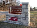 Wm. Minor Mon. Sign 04 at 3 Trails Corridor (591ffa732e0b44fcb6489209f1b5c3e1).JPG