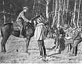 Wojna polsko-sowiecka - doręczanie meldunku NAC 1-H-395a.jpg
