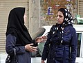Women Chat on Street - Kermanshah - Western Iran (7423409234).jpg