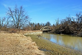 Wooden Bridge on Humber River at Claireville Conservation Area.jpg