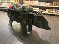 Wooden cow shelf inside Le Silpo supermarket; Dnipro, Ukraine.jpg