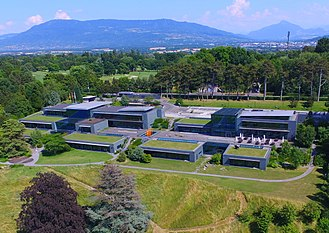 World Economic Forum - Headquarters in Cologny, Switzerland.
