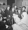 Wrens Learn Mothercraft- Members of the Women's Royal Naval Service Receive Training From the Mothercraft Training Society, London, England, UK, 1945 D23645.jpg