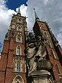 Wrocław - Archikatedra św. Jana Chrzciciela we Wrocławiu - 2 z 25.11.1947 oraz 42 z 26.10.1961.jpg