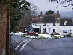 Wrockwardine - Image: Wrockwardine village 03