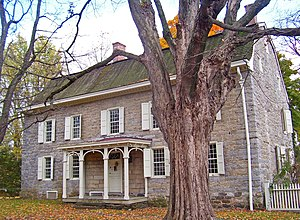 Stone Ridge, New York - George Washington slept in Cornelius Wynkoop's house, part of the Main Street Historic District
