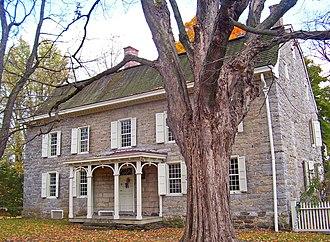 Stone Ridge, New York - George Washington slept in Cornelius Wynkoop's house, part of the Main Street Historic District