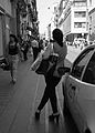 X - by Mario Mancuso (woman in a street in Naples).jpg