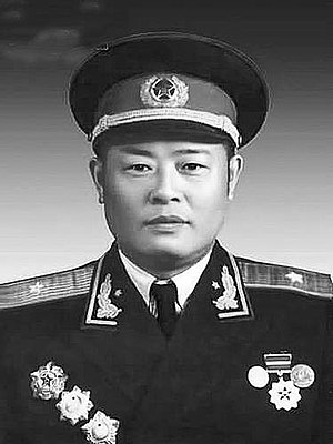 Xie Zhenhua (general) - Xie Zhenhua in 1955