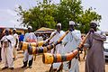 Yanshantu traditional music group used as town announcers in Rimi Gado LGA in Kano state.jpg