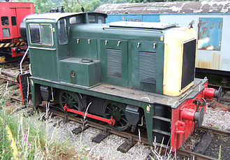 Yorkshire Engine Company - One of the first YEC Diesel Hydraulic locomotives built for industrial use