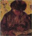 YorozuTetsugorō-1908-A Woman Reading a Book.png