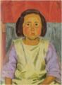 YorozuTetsugorō-1925-Portrait of a Girl(Kaoruko, the Second Daughter).png