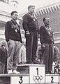 Yoshihisa Yoshikawa, Aleksey Gushchin, Makhmud Umarov 1960.jpg