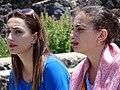 Young Women at Sevan Monastery - Lake Sevan - Armenia (19479384679).jpg