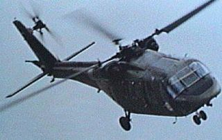 Boeing Vertol YUH-61 utility helicopter prototype by Boeing Vertol