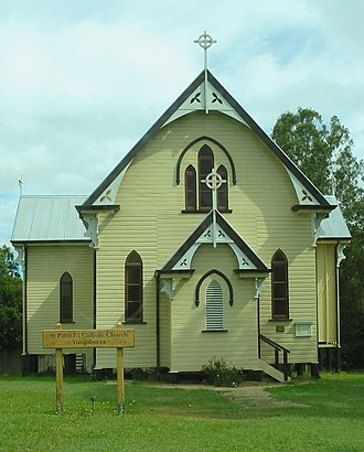 Yungaburra - St Patrick's Catholic Church (built 1914)