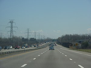 Interstate 290 (New York) - I-290 eastbound near exit 6