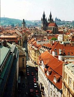 Historické jádro Prahy