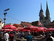 Zagreb, Dolac market