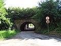 Zelené Předměstí, železniční mosty přes severní prodloužení ulice U Trojice (01).jpg
