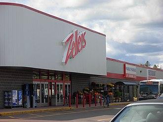 Zellers - Zellers location (Store 158) in Moncton