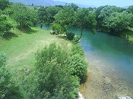 Pohľad na rieku