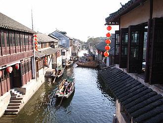 Kunshan - Image: Zhouzhuang 4