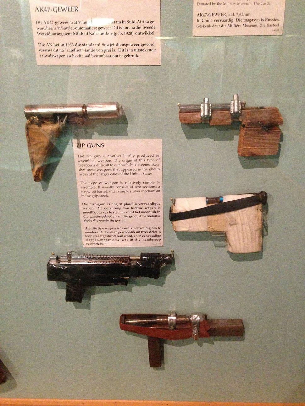 Improvised firearm - Howling Pixel