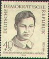 Zoya Kosmodemyanskaya on stamp.JPG