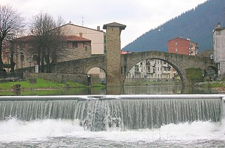 Balmaseda Municipality in Basque Country, Spain