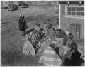 """Community gathering at Wind River Agency"" - NARA - 293417.tif"