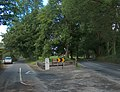 """""""Golden Mile"""" fork in the road west of Tipperary - geograph.org.uk - 2544337.jpg"""