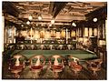 """Konig Albert,"" dining room, second class, North German Lloyd, Royal Mail Steamers-LCCN2002720832.jpg"