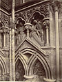 """The Last Judgment."" Niche Sculptures, Wells Cathedral West Façade (3611616336).jpg"