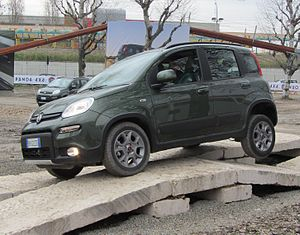 ' 12 - ITALY - Fiat Panda 4x4 Off-road test drive - Motorshow di Bologna cut.JPG