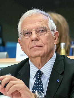 (Josep Borrell) Hearing of Josep Borrell, High Representative Vice President-designate, A stronger Europe in the World (48859228793) (cropped).jpg
