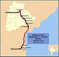 (Karimnagar - Tirupati) Express Route map.jpg