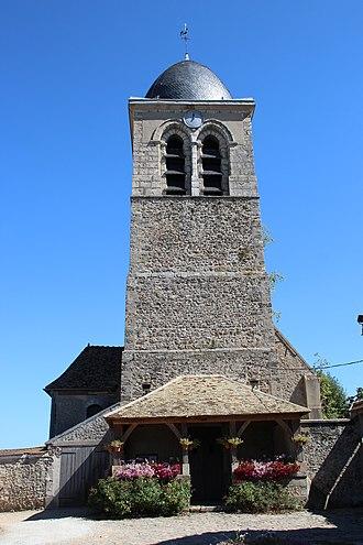 Jouars-Pontchartrain - Image: Église Saint Martin de Jouars Pontchartrain en 2013 02