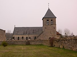 The parish church of Saint-Vincent, in Chemillé-sur-Indroi