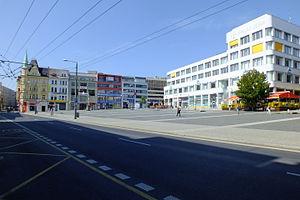 Ústí nad Labem - Image: Ústí nad Labem centrum města