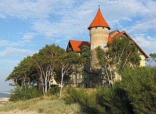 Łeba Place in Pomeranian Voivodeship, Poland