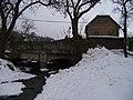 Řevnice, Moklický potok, most Příčné ulice (01).jpg