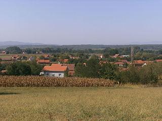 Šainovac Village in Jablanica District, Serbia