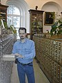 Бабкин М.А, в Библиотеке МГУ на Моховой. 12.07.2006.jpg