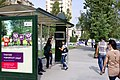 Баку, Проспект Алиева (Московский проспект). Остановка.JPG