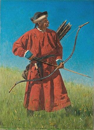 Бухарский солдат (сарбаз), 1873
