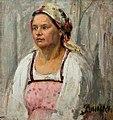 Женщина в платке (Картина В.Э. Вильковиской).jpg