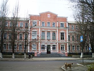 Bakhmut - Railway institute building